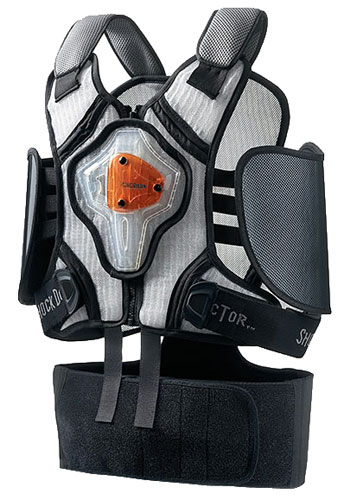 Large photo of Shock Doctor Power Karting Adult Chest and Rib Protector, Pegasus Part No. SD-554-Size