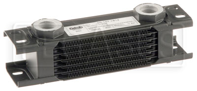 Large photo of Setrab Series 1 Oil Cooler, 7 Row, M22 Ports, Pegasus Part No. SET-107-7612