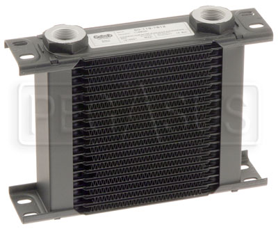 Large photo of Setrab Series 1 Oil Cooler, 19 Row, M22 Ports, Pegasus Part No. SET-119-7612
