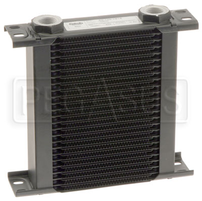 Large photo of Setrab Series 1 Oil Cooler, 25 Row, M22 Ports, Pegasus Part No. SET-125-7612