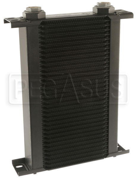 Large photo of Setrab Series 1 Oil Cooler, 34 Row, M22 Ports, Pegasus Part No. SET-134-7612
