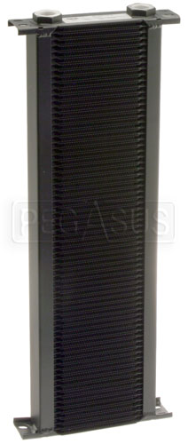 Large photo of Setrab Series 1 Oil Cooler, 72 Row, M22 Ports, Pegasus Part No. SET-172-7612