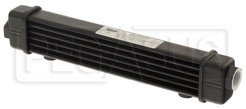Large photo of Setrab SLM Series Oil Cooler, 6 Row, M22 Ports, 250mm Core, Pegasus Part No. SET-53-10743