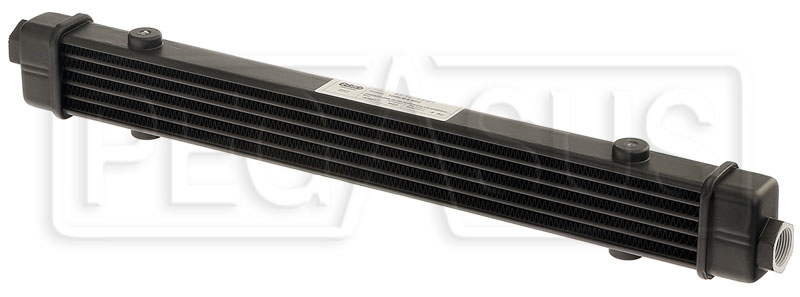 Large photo of Setrab SLM Series Oil Cooler, 6 Row, M22 Ports, 420mm Core, Pegasus Part No. SET-53-10746