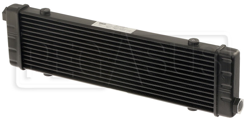 Large photo of Setrab SLM Series Oil Cooler, 14 Row, M22 Ports, 420mm Core, Pegasus Part No. SET-53-10748