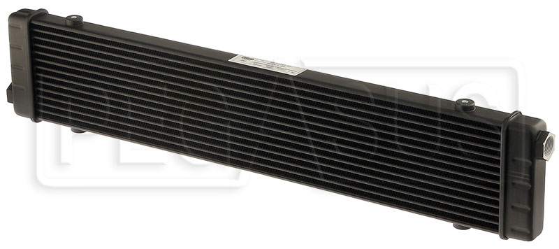 Large photo of Setrab SLM Series Oil Cooler, 14 Row, M22 Ports, 592mm Core, Pegasus Part No. SET-53-10751