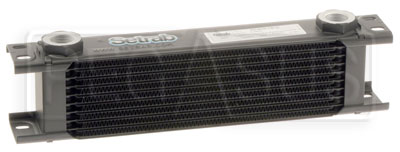 Large photo of Setrab Series 6 Oil Cooler, 10 Row, M22 Ports, Pegasus Part No. SET-610-7612