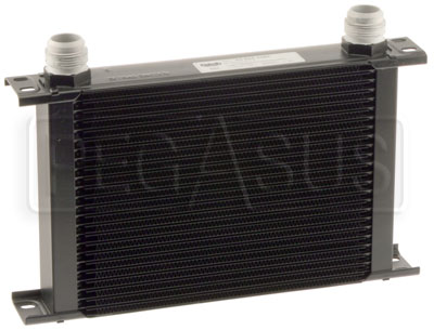 Large photo of Setrab Series 6 Oil Cooler, 25 Row, AN16 Ports, Pegasus Part No. SET-625-4064