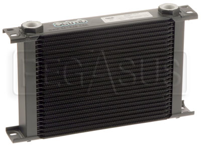 Large photo of Setrab Series 6 Oil Cooler, 25 Row, M22 Ports, Pegasus Part No. SET-625-7612