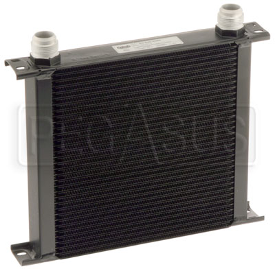 Large photo of Setrab Series 6 Oil Cooler, 34 Row, AN16 Ports, Pegasus Part No. SET-634-4064