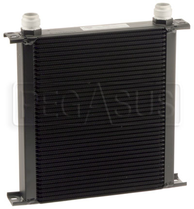 Large photo of Setrab Series 6 Oil Cooler, 40 Row, AN16 Ports, Pegasus Part No. SET-640-4064