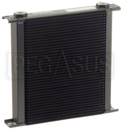 Large photo of Setrab Series 6 Oil Cooler, 40 Row, M22 Ports, Pegasus Part No. SET-640-7612