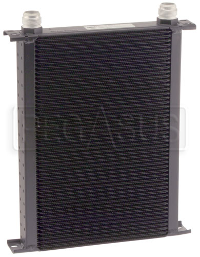 Large photo of Setrab Series 6 Oil Cooler, 50 Row, AN16 Ports, Pegasus Part No. SET-650-4064