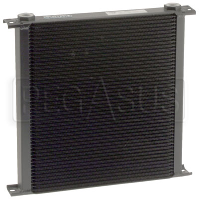 Large photo of Setrab Series 9 Oil Cooler, 48 Row, M22 Ports, Pegasus Part No. SET-948-7612