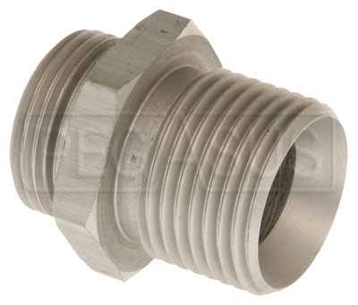 Large photo of Setrab M22 to 5/8 BSP Adapter, Straight, Pegasus Part No. SET-M22BSP10-SE