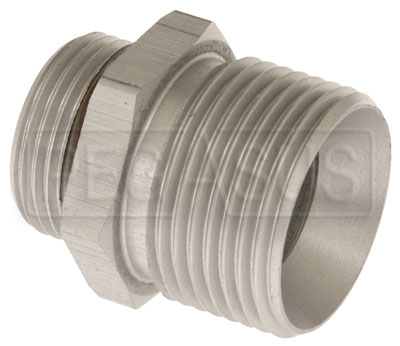 Large photo of Setrab M22 to 3/4 BSP Adapter, Straight, Pegasus Part No. SET-M22BSP12-SE