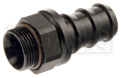 Large photo of Setrab M22 to 12AN Pushlock Hose Barb, Straight, Pegasus Part No. SET-M22PL12-00