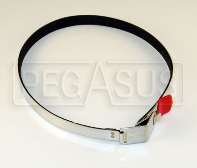 Large photo of SPA Design Mounting Strap Only for AFFF or 11lb Bottle, ea, Pegasus Part No. SP 025