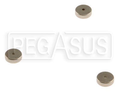 Large photo of Replacement Magnets for SPA Speedometer, pack of 3, Pegasus Part No. SP RP-MPU002