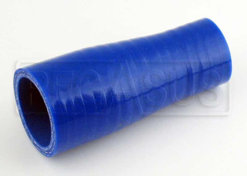 Large photo of Blue Silicone Hose, 1 3/8 x 1 inch Straight Reducer, Pegasus Part No. SR35.25-BLUE