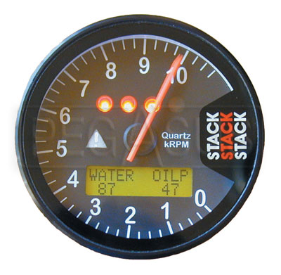 Large photo of Stack ST700 Dash Display Tachometer, Pegasus Part No. ST700