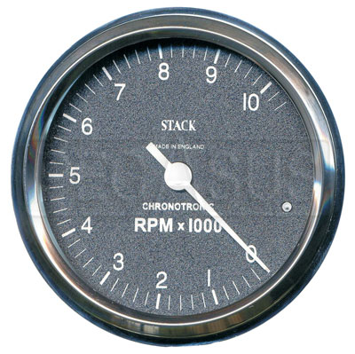 Large photo of Stack Chronotronic Tachometer, 0 to 10,000 RPM, Pegasus Part No. ST901096