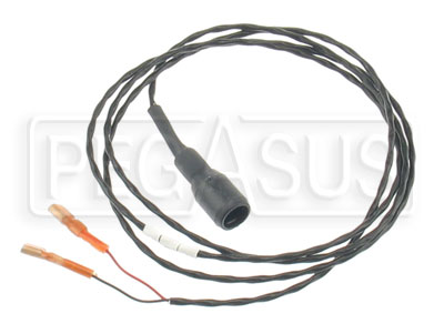 Large photo of Stack Sensor Lead Only, 2 Female Push-on to Sure Seal, Pegasus Part No. ST918009