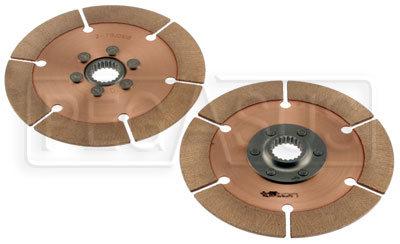 Large photo of Tilton OT-2 Dual Clutch Disc Set, 7.25