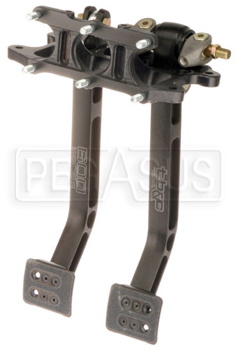 Large photo of Tilton Dual Pedal Asmy 6.2 Ratio, Overhung Mt, Aluminum, Pegasus Part No. TE 72-602