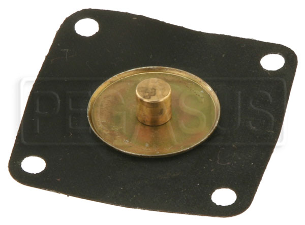 Large photo of Accelerator Pump Diaphragm Assembly, Late Model Weber IDF, Pegasus Part No. WC-47407.207