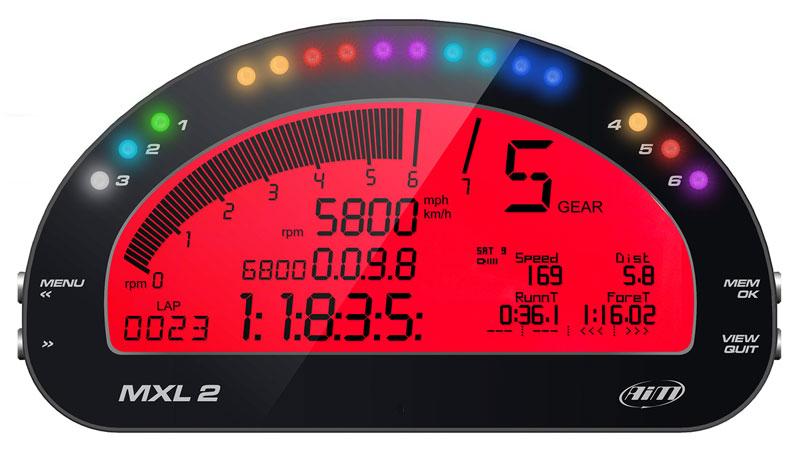 Aim Mxl 2 High Performance Digital Dash Pegasus Auto