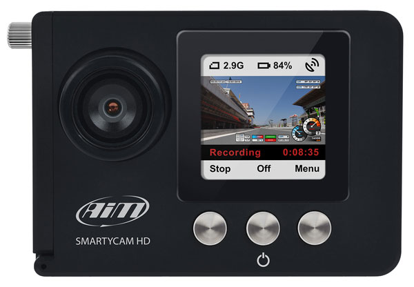 Large photo of AiM SmartyCam HD Video Camera with Data Overlay, Pegasus Part No. MC-549