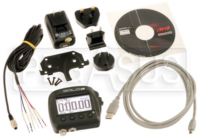 Large photo of AiM SoloDL On-Board Lap Timer, CAN / RS232 ECU Wiring, Pegasus Part No. MC-572