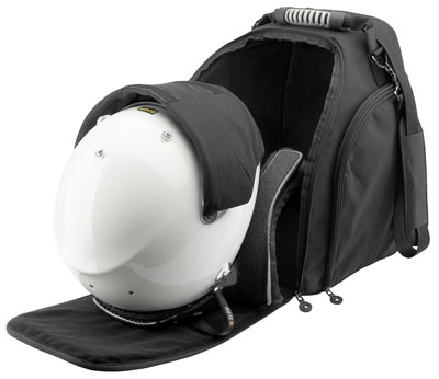 Large photo of OMP HANS Helmet Bag with Visor Sleeve, Pegasus Part No. OMP-ORA2961