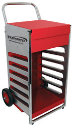 Click for a larger picture of Intercomp Wheeled Scale System Cart