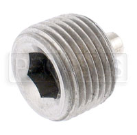 Click for a larger picture of Magnetic Plug, Hex Socket 3/8-18 NPT
