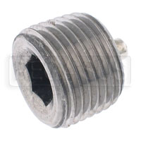 Click for a larger picture of Magnetic Plug, Hex Socket 1/2-14 NPT