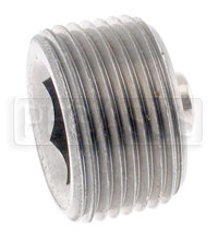 Click for a larger picture of Magnetic Plug, Hex Socket 3/4-14 NPT