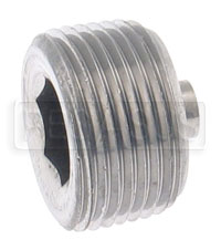 Click for a larger picture of Magnetic Plug, Hex Socket  1 -11.5NPT