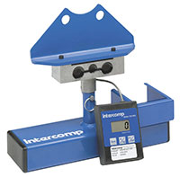 Click for a larger picture of Intercomp Hub Mounted Corner Weight Scale, Single