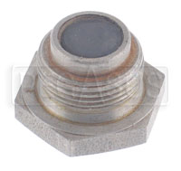 Click for a larger picture of Magnetic Plug, Cap Screw Type  7/8-14