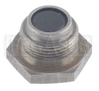 Click for a larger picture of Magnetic Plug, Cap Screw Type  7/8-18