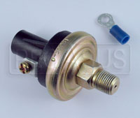 Click for a larger picture of 2 to 7 psi Adjustable Fuel Pressure Warning Switch