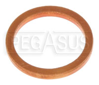 Click for a larger picture of Racetech Gauge 12mm Temperature Bulb Copper Washer