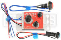 Click for a larger picture of Cartek GT Battery Isolator Kit with Red External Button