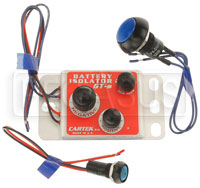 Click for a larger picture of Cartek GT Battery Isolator Kit with Blue External Button