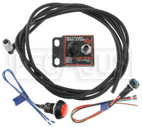 Click for a larger picture of Cartek XS Battery Isolator Kit with Red External Button