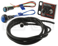 Click for a larger picture of Cartek XS Battery Isolator Kit with Blue External Button