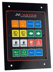 Click for a larger picture of Cartek 16 Channel Power Distribution Panel