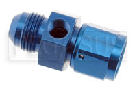 Click for a larger picture of 8AN Male to 8AN Female Adapter with 1/8 NPT in Hex